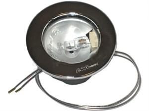 Plafoniera Cappa Franke : Faretto completo di lampada e portalampada franke